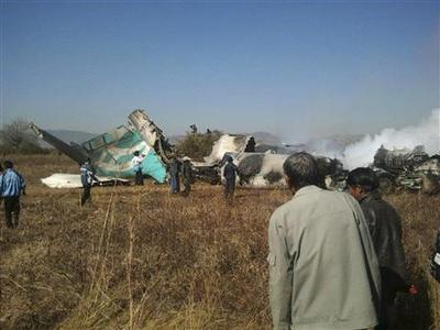 Two killed as passenger plane lands in Myanmar rice...