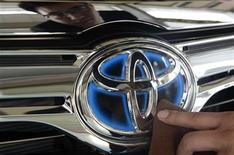 Il marchio Toyota. REUTERS/Jon Woo