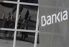 Ações do Bankia despencaram 14 por cento após avaliação negativa do FROB. 28/11/2012 REUTERS/Andrea Comas