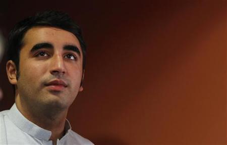 Bilawal Bhutto Zardari at the Rome Film Festival October 30, 2010. REUTERS/Alessia Pierdomenico/Files
