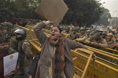 New India rape protests fizzle, victim airlifted to...