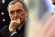 Il procuratore nazionale antimafia Piero Grasso in una foto del 2008. REUTERS/Tony Gentile