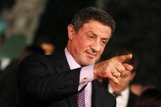 """Juiz norte-americano decidiu que Sylvester Stallone não copiou roteiro do filme """"Os Mercenários"""", lançado em 2010. 14/11/2012. REUTERS/Giampiero Sposito"""