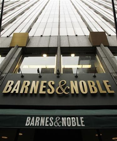 A Barnes and Noble storefront is pictured in New York October 24, 2012. REUTERS/Brendan McDermid