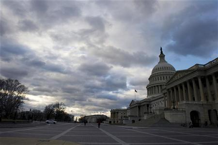 The U.S. Capitol building is pictured as lawmakers return from the Christmas recess in Washington December 27, 2012. REUTERS/Mary F. Calvert