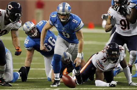 NFL: Bears keep playoff hopes alive with win over Lions