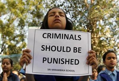 In Delhi student's gang rape & murder, two worlds...