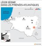 LÉGER SÉISME DANS LES PYRÉNÉES-ATLANTIQUES