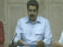 Vice-presidente da Venezuela Nicolas Maduro disse que Hugo Chávez enfrenta complicações relacionadas a uma infecção respiratória após cirurgia. 30/12/2012 REUTERS/Venezuelan Government TV/Handout