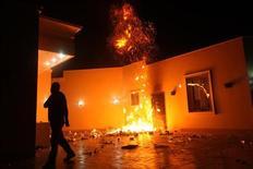 Relatório do Senado norte-americano aponta falhas do Departamento de Estado em consulado do país em Benghazi, na Líbia. 11/09/2012 REUTERS/Esam Al-Fetori