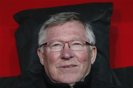 Manchester United's manager Alex Ferguson is seen at Turk Telekom Arena in Istanbul November 20, 2012. REUTERS/Murad Sezer