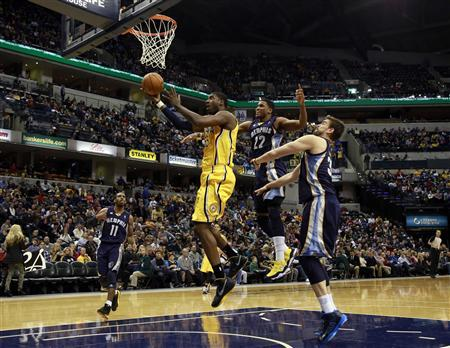 Pacers surge past visiting Grizzlies