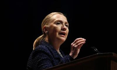 Clinton suffers clot behind right ear, full recovery...