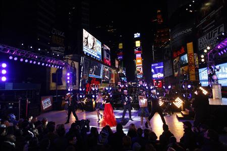 Carly Rae Jepsen performs during New Year's Eve celebrations in Times Square in New York December 31, 2012. REUTERS/Joshua Lott