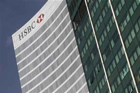 The HSBC building is pictured in Mexico City, December 11, 2012. REUTERS/Edgard Garrido