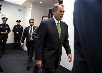 U.S. House Republicans balk at 'fiscal cliff' deal