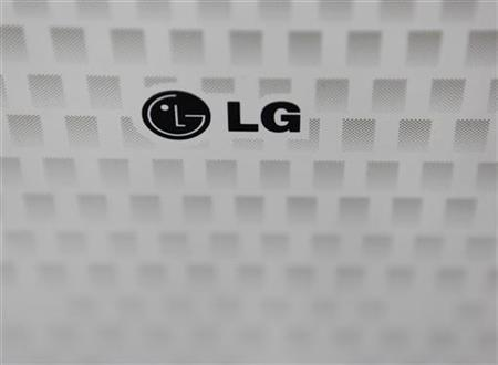 The logo of LG Electronics is seen at a store in Seoul July 25, 2012. REUTERS/Lee Jae-Won/Files