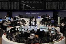 Un'immagine della Borsa di Francoforte. REUTERS/Remote/Amanda Andersen