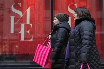 What fiscal cliff? Shoppers shrug off budget debate