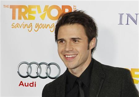 Singer Kris Allen arrives at The Trevor Project's ''Trevor Live'' fundraising dinner in Hollywood December 4, 2011. REUTERS/Fred Prouser