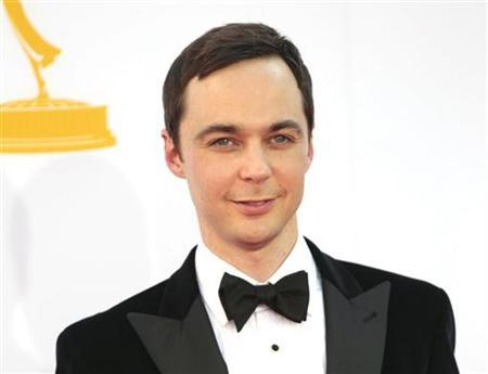Jim Parsons of the comedy series ''The Big Bang Theory'' arrives at the 64th Primetime Emmy Awards in Los Angeles September 23, 2012. REUTERS/Mario Anzuoni/Files