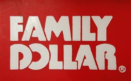 A Family Dollar logo is seen on a shopping basket in Chicago, June 25, 2012. REUTERS/Jim Young