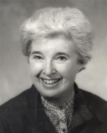 Scholar and author Gerda Lerner is seen in this undated handout photo courtesy of the University of Wisconsin. REUTERS/University of Wisconsin-Madison Archives/Handout