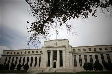 The Federal Reserve Building is seen in Washington September 16, 2008. REUTERS/Jim Young/Files