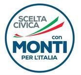 Il simbolo di una delle liste a sostegno di Mario Monti alla Camera. REUTERS/Hand out