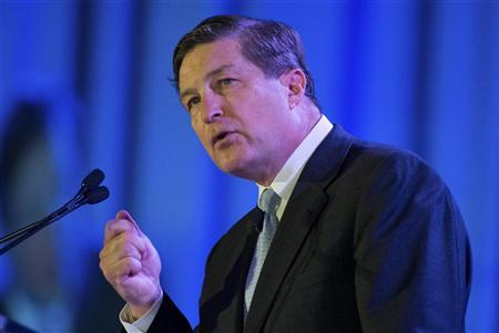 Jeffrey Lacker, president of the Federal Reserve Bank of Richmond, speaks during the Charlotte Chamber's Economic Outlook Conference in Charlotte, North Carolina December 17, 2012. REUTERS/Chris Keane