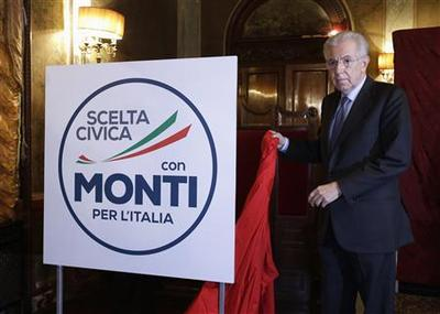 Italy's Monti unveils alliance, rules out minister...