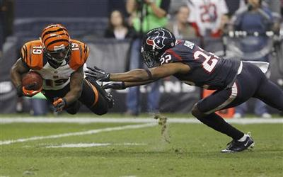 Texans tame Bengals in playoff opener
