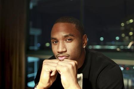 Singer, rapper and actor Tremaine ''Trey Songz'' Neverson poses in Los Angeles, California, December 18, 2012. Trey Songz stars in ''Texas Chainsaw 3D'', a remake of The Texas Chainsaw Massacre. REUTERS/David McNew/Files