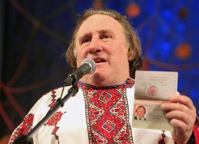 French actor Depardieu meets Putin, picks up Russian...