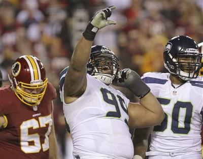 Seahawks rally to beat Redskins, Griffin injured