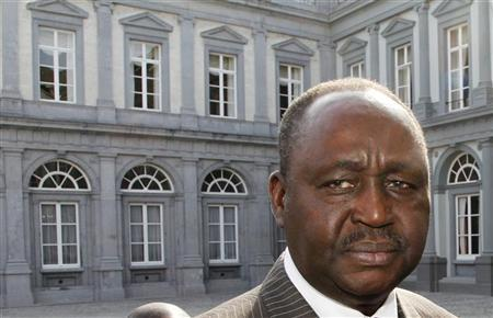 Central Africa Republic's President Francois Bozize arrives at the Egmont Palace ahead of the Central Africa International Donors' Conference in Brussels June 17, 2011. REUTERS/Thierry Roge