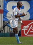 Le milieu de terrain de l'Olympique de Marseille André Ayew a été exclu de la sélection du Ghana pour la Coupe d'Afrique des nations (Can) parce qu'il ne s'est pas présenté dans le délai imparti. /Photo prise le 23 décembre 2012/REUTERS/Jean-Paul Pélissier