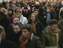 A trois jours d'un round de négociations décisif sur la réforme du marché du travail, dont François Hollande a fait un des emblèmes de sa méthode de gouvernement, les protagonistes campent sur leurs positions et se montrent pessimistes. /Photo d'archives/REUTERS