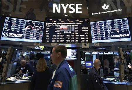 Wall Street edges off five-year high, awaits earnings