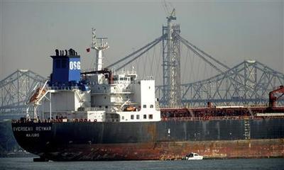 Tanker hits San Francisco Bay Bridge: Coast Guard