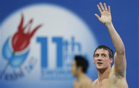 Ryan Lochte of the U.S. at the FINA World Swimming Championships in Istanbul December 14, 2012. REUTERS/Murad Sezer/Files