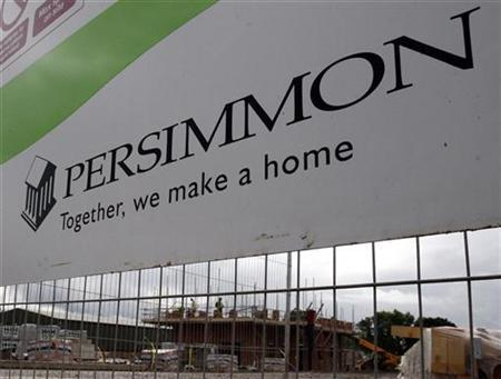 A Persimmon housing development is pictured in Hilton, central England August 19, 2008. REUTERS/Darren Staples