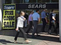 The closing down Sears store is shown in downtown Vancouver, British Columbia September13, 2012. REUTERS/Andy Clark