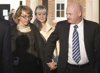 Former Representative Giffords launches gun control...