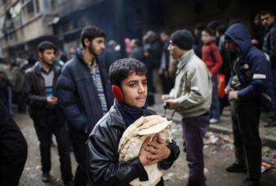 Insight: Aleppo misery eats at Syrian rebel support
