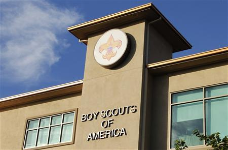 The Cushman Watt Scout Center, headquarters of the Boy Scouts of America for the Los Angeles Area Council, is shown in Los Angeles, California in this October 18, 2012 file photograph. REUTERS/Fred Prouser/Files