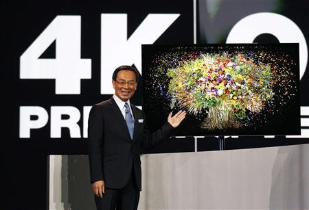 Panasonic, in one-upmanship, unveils biggest OLED TV