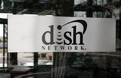 The sign in the lobby of the corporate headquarters of Dish Network is seen in the Denver suburb of Englewood, Colorado April 6, 2011. REUTERS/Rick Wilking