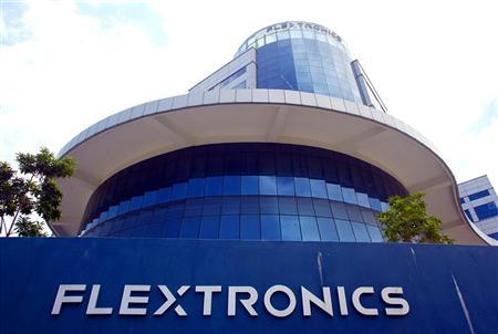 Exterior view of the Flextronics International Inc. headquarters for regional manufacturing in Singapore, September 26, 2003. REUTERS/Thomas White