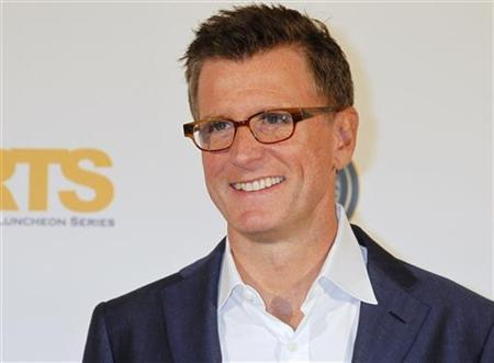 Kevin Reilly poses at the Hollywood Radio and Television Society Newsmaker Luncheon featuring the TV network entertainment presidents in Beverly Hills, California October 11, 2011. REUTERS/Fred Prouser